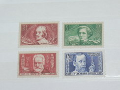LOT N° 4 / 4 TIMBRES NEUFS SANS CHARNIERE  / TIMBRE 1900 A 1938 / COTE YT 76 EUROS