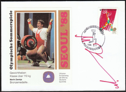 Korea 1988 / Olympic Games Seoul / Weightlifting / Bronze Medal Winner Martin Zawieja - Summer 1988: Seoul