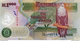 ZAMBIE 1000 KWACHA 2009 P-44g NEUF  [ZM146g] - Sambia