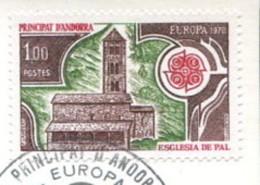 Andorre 1978 - YT 269 (o) Sur Fragment