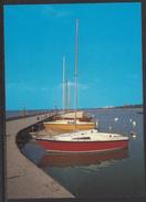 HUNGARY - 1988.Postal Stationery Postcard - Greeting From Lake Balafon / Sailboat MNH!!! Cat.No.577/005.