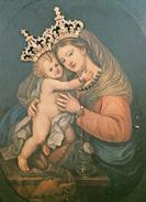 Cartolina MADONNA - Parrocchia Materdei A Napoli - Virgen Mary & Madonnas