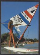 HUNGARY - 1988.Postal Stationery Postcard - Greeting From Lake Balafon / Windsurfing MNH!!! Cat.No.577/004.