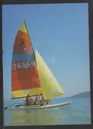 HUNGARY - 1988.Postal Stationery Postcard - Greeting From Lake Balaton / Sailboat MNH!!! Cat.No.577/003.