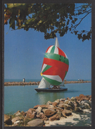 HUNGARY - 1988.Postal Stationery Postcard - Greeting From Lake Balaton / Sailboat MNH!!! Cat.No.577/002.