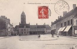 CHATEAU LANDON LA PLACE DU MARCHE (dil199) - Chateau Landon