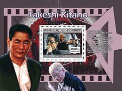 GUINEA 2007 SHEET STARS OF JAPANESE CINEMA STARS DU CINEMA JAPONAIS ACTORS ACTOR TAKESHI KITANO Gu0769b
