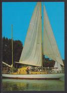 HUNGARY - 1988.Postal Stationery Postcard - Greeting From Lake Balaton/Sailboat MNH!!! Cat.No.626/002.