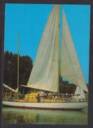 HUNGARY - 1988.Postal Stationery Postcard - Greeting From Lake Balaton/Sailboat  USED!!! Cat.No.626/002.