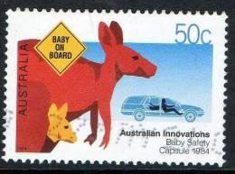 Australia 2004 Innovations 50c Baby Safety Capsule 1984 Used - 2000-09 Elizabeth II