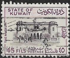 KUWAIT 1968  National Museum - 45f. - Deep Purple And Purple  FU - Kuwait