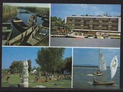 HUNGARY - 1988.Postal Stationery Postcard - Greeting From Lake Velence USED!!! Cat.No.517/002.