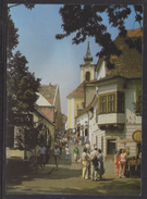HUNGARY - 1988.Postal Stationery Postcard - Greeting From Szentendre / Greek Street  USED!!! Cat.No.548/002.