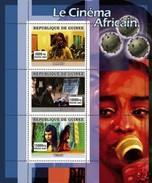GUINEA 2007 SHEET AFRICAN CINEMA LE CINEMA AFRICAIN FILM MOVIES BAMAKO TSOTSI YEELEN Gu0772