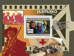 GUINEA 2007 SHEET AFRICAN CINEMA LE CINEMA AFRICAIN FILM MOVIES BAMAKO ACTORS DANNY GLOVER RED CROSS Gu0772a
