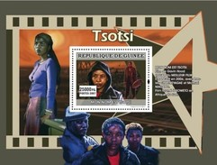 GUINEA 2007 SHEET AFRICAN CINEMA LE CINEMA AFRICAIN FILM MOVIES TSOTSI Gu0772b