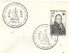 38  GRENOBLE  150° Anniversaire Du Retour De L'ile D'Elbe  Mars 1815  7/03/65