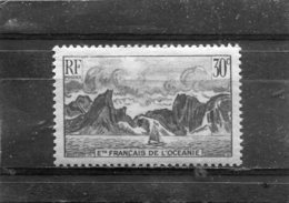 FRENCH POLYNESIA. 1948. SCOTT 161. COAST OF MOOREA