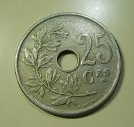 Belgium 25 Centimes 1920 - 05. 25 Centiem