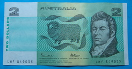 AUSTRALIA 2 DOLLARS ND 1985, Pick 43e. XF - VF, CLEAN AND CRISP PAPER, LHF 849035 - 1974-94 Australia Reserve Bank (paper Notes)