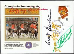 Korea 1988 / Olympic Games Seoul / Equestrian, Jumping Team / Gold Medal Winners - Zomer 1988: Seoel