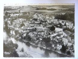 CPSM (49) Maine Et Loire - Saint Hilaire Saint Florent - Vue Aérienne - Carte Coupée - Autres Communes