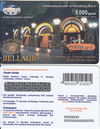 ARMENIA - Bellagio, ArmenTel Prepaid Card 5000 AMD, Tirage 15000, Exp.date 30/10/06, Sample - Armenia