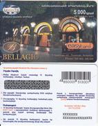 ARMENIA - Bellagio, ArmenTel Prepaid Card 5000 AMD, Tirage 15000, Exp.date 30/10/06, Sample
