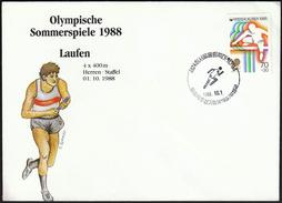 Korea 1988 / Olympic Games Seoul / Athletics, 4x400 Relay / Bronze Medal Winner Germany - Ete 1988: Séoul