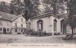 BUSSANG La Buvette De L'Etablissement (1938) - Bussang
