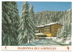1985, Trento - Madonna Di Campiglio - L'hotel Carlo Magno Zeledria - Trento