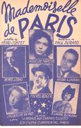 Mademoiselle De Paris (p.: Henri Contet, M.: Paul Durand ) Jacqueline François/André Claveau/Michel Roger..., 1948 - Non Classés