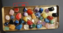 Lot De 42(250gr) Pierres Roulées Lithothérapie Taille Entre 1 Et 3cm - Mineralien