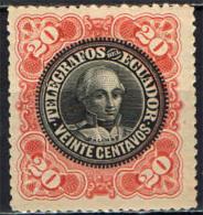 ECUADOR - 1900 - FRANCOBOLLO PER TELEGRAFO - USATO - Ecuador
