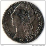 """Louis XV...1/10 Ecu Au Bandeau 1746 A....Possible """" FAUX D'époque """".Voir Scan - 987-1789 Geld Van Koningen"""