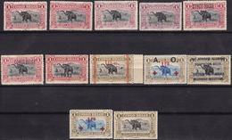 1909, CONGO, Stamp, Africa, Fauna, Animals, Elephant