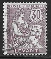 France Offices Turkey(Levant),Scott # 30 Used, 1903 - Levant (1885-1946)