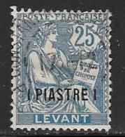 France Offices Turkey(Levant),Scott # 34 Used, 1903 - Levant (1885-1946)
