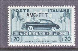 Italy AMG-FTT  111   **   AUTO  EXPO. - 7. Trieste