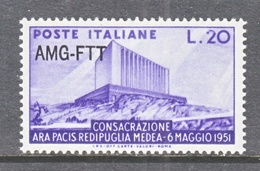 Italy AMG-FTT  112   ** - 7. Trieste