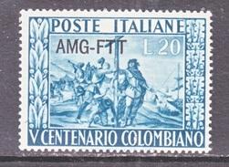 Italy AMG-FTT  119   ** - 7. Trieste