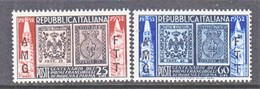 Italy AMG-FTT  146-7   **  STAMPS On STAMPS - 7. Trieste