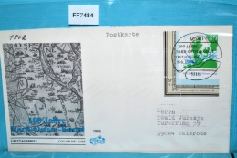 FF7484 FDC 100 Jahre Nord-Ostsee-Kanal, DE 1995 - [7] Federal Republic