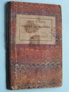 Carnet De MARIAGE ( PIRON / DARCIS Liège - Anno 14 Fév 1895 + Doc Distri Des PAINS (Collez / Voir Photo ) ! - Non Classés