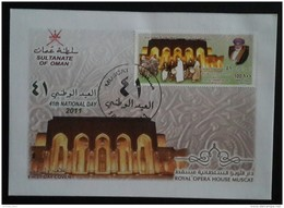 Sultanate Of OMAN 2011 FDC - 41th National Day - Sultan Opera House - Oman
