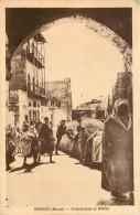 Maroc -  Meknès - Avenue Dans Le Mellah - Giudaismo