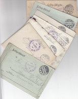 Ca. 110 Feldpostbriefe-  Karten Meist Von Lazaretteinheiten Und Meist Mit  Inhalten.ca. 10 Sind Auch Geprüft In Zabern