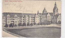 Stettin - Partie Bei Der Regierung - 1915 - Pommern