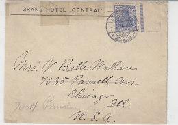 Brief Aus Strassburg 7.5.06 Nach Chicago USA / 2.Wahl