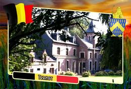 Postcard, REPRODUCTION, Municipalities Of Belgium, Ternat, Flemish Region 12 - Maps